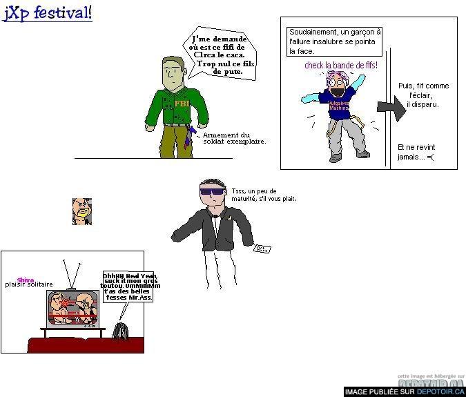 Festival Jxp non-fini