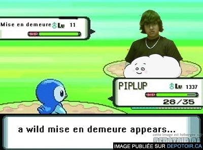 A wild Mise en demeure appears