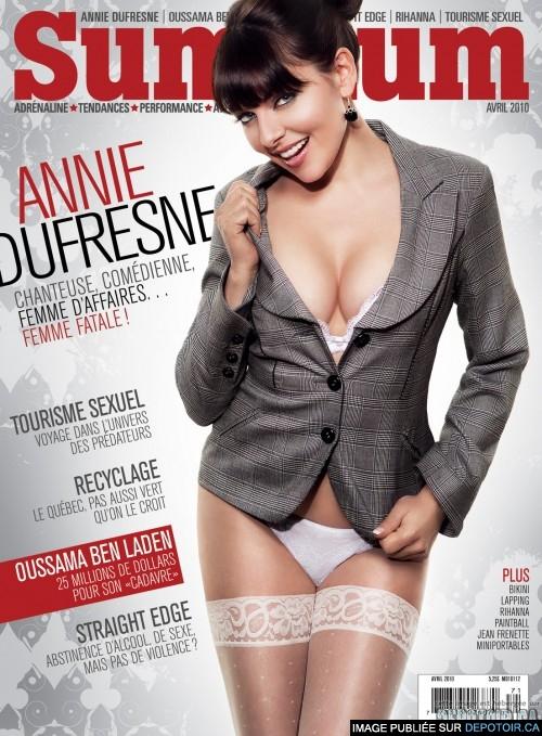 Nackt Annie Dufresne  Les internautes