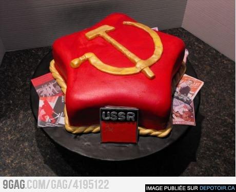 Pomo story's birthday cake