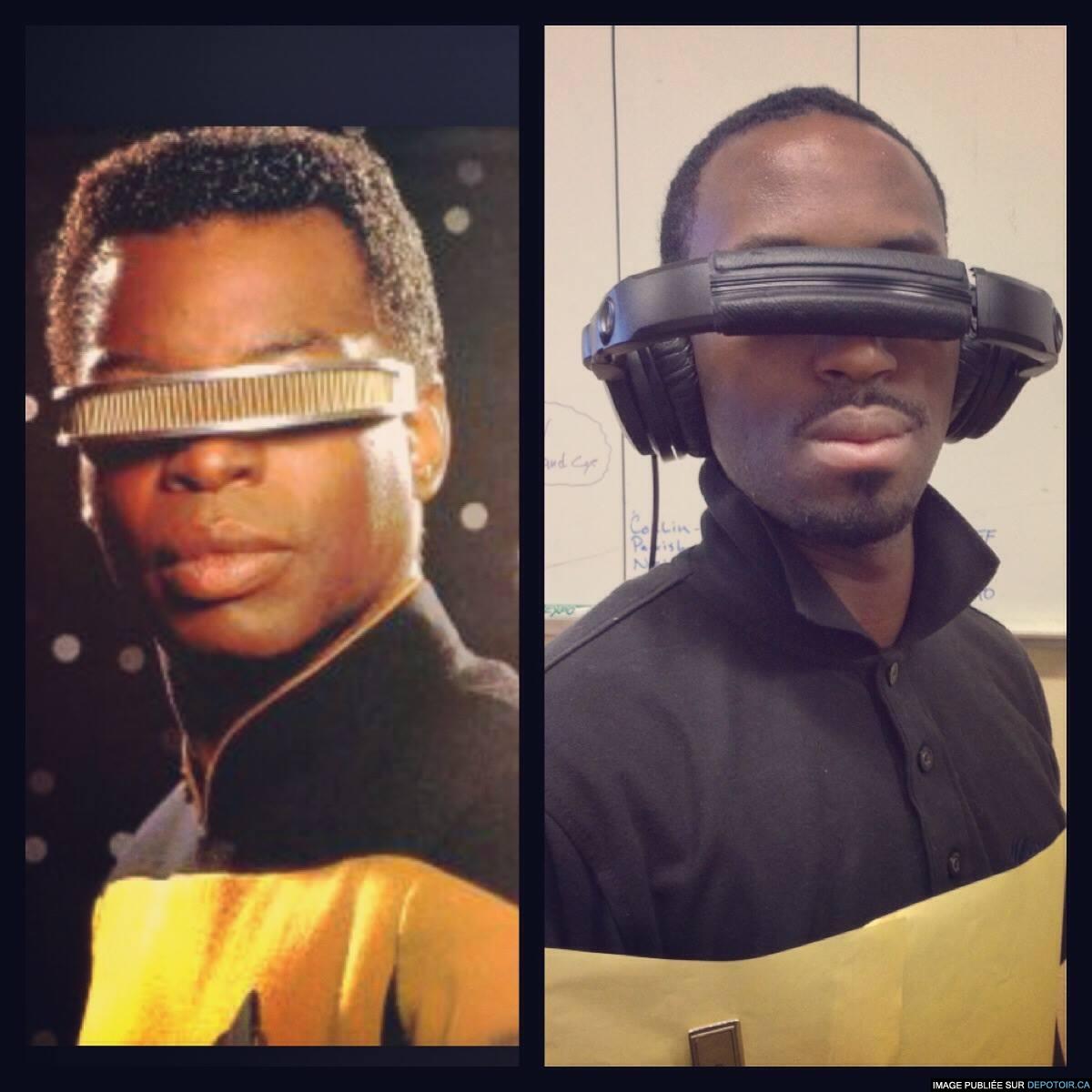 Mack Black et son Oculus Rift