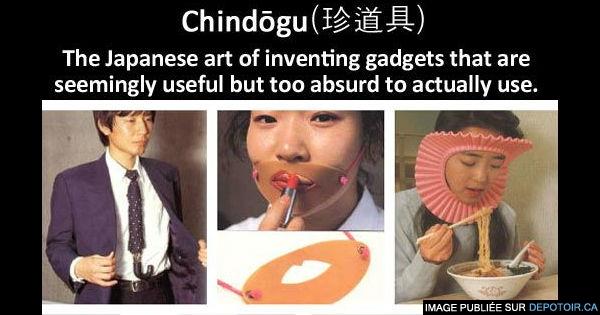 Chindogu