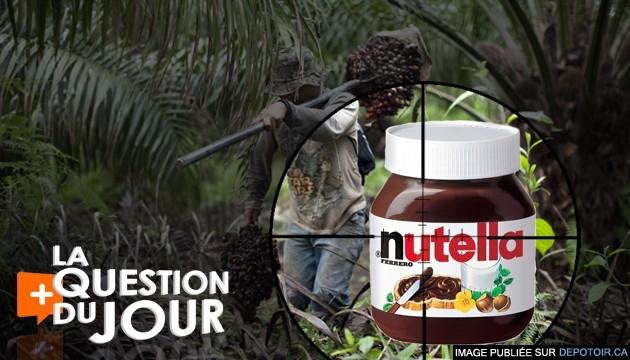 Le nutella et la destruction des forêts tropicales
