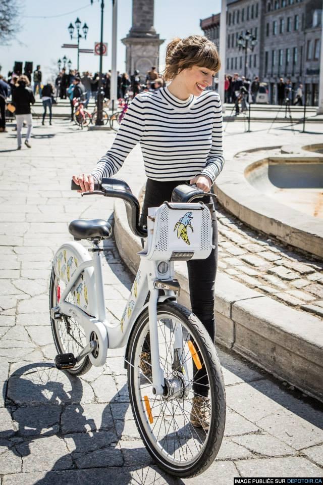 Le vélo de Gabrielle