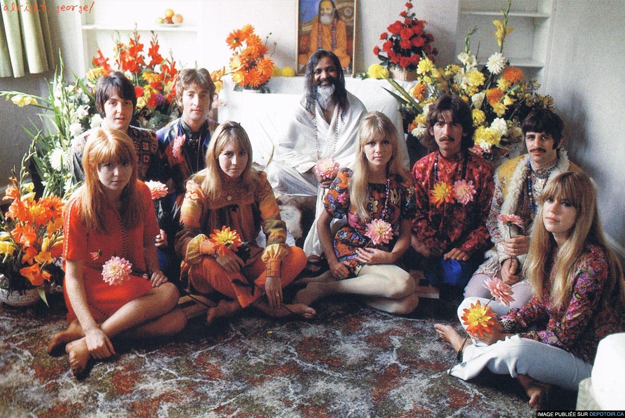 Séjour des Beatles en Inde