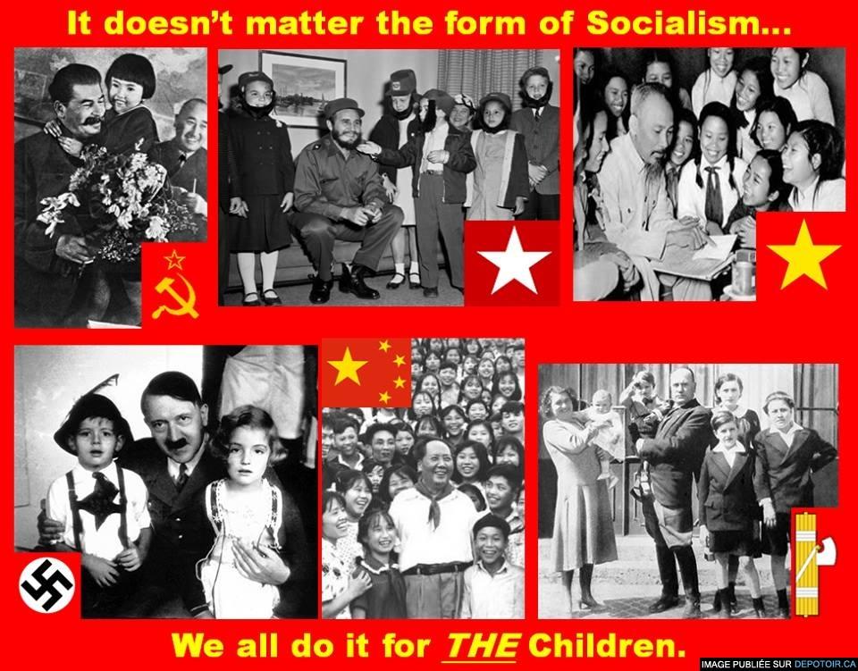 Le socialisme et les enfants!