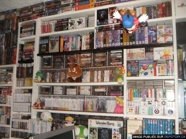 550 000$ pour cette collection de jeux vidéo