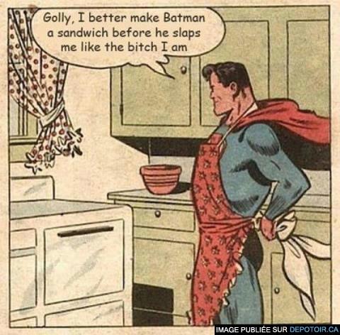 Superman est une bitch
