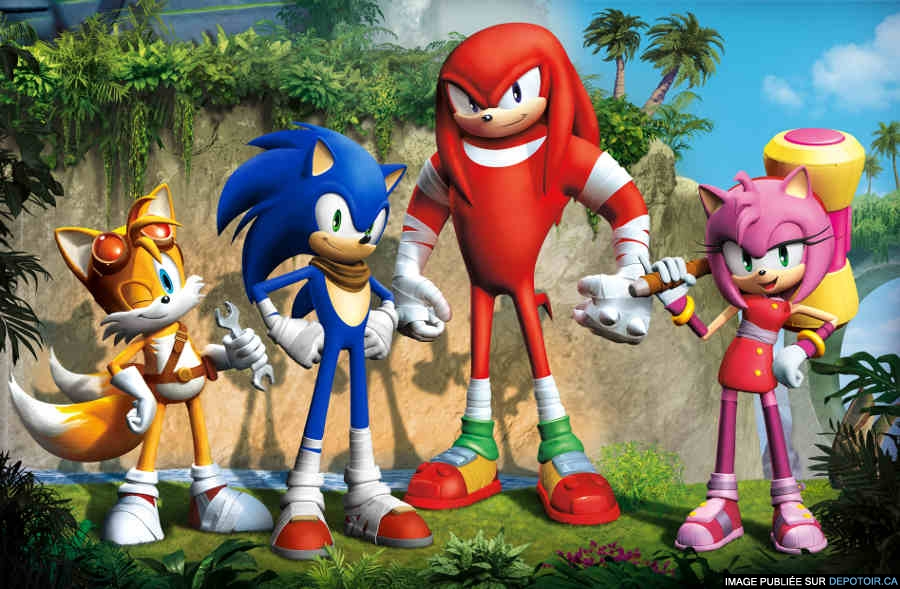 Sonic BOOOOOOM