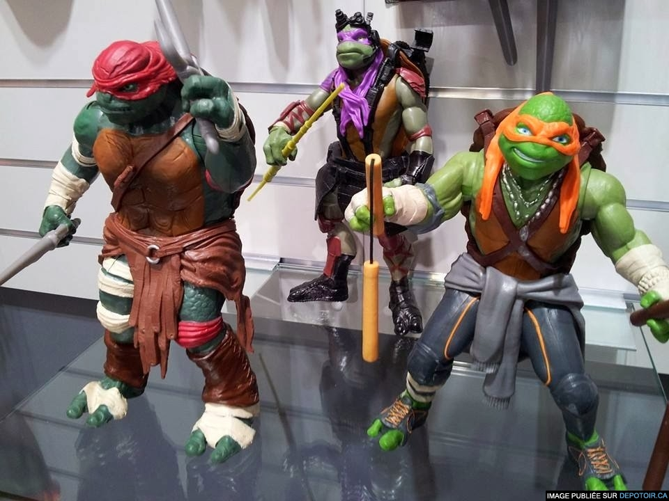 Les tortues de Michael Bay auront l'air de... ça