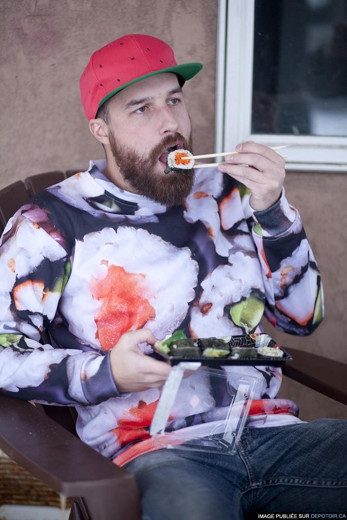Mon amour pour les sushis est incommensurable !