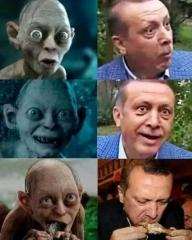 Pour avoir comparé le président turc à Gollum, un Turc risque quatre ans de prison