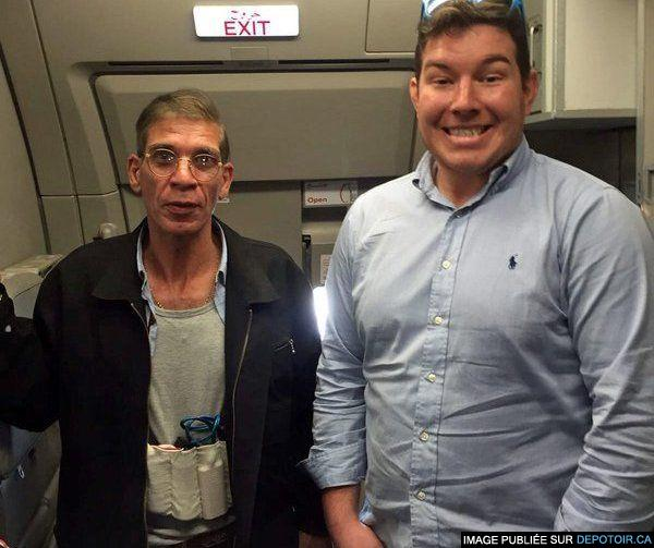 Egyptair: il prend une photo avec le pirate de l'air