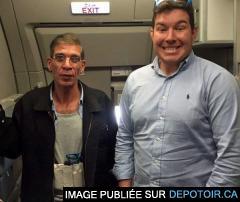 Egyptair: il prend une photo avec le pirate de l'air