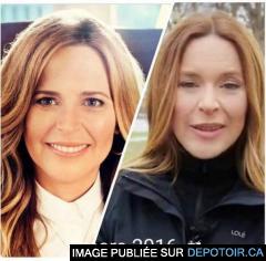 Julie Snyder: avant et après